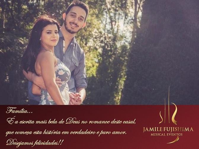 Felicitações ao casal Márcia e Gustavo - Musical Casamento Hortolândia