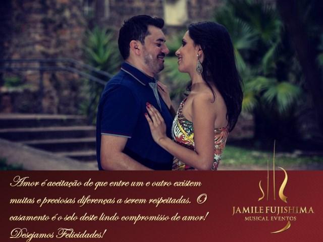Felicitações ao casal Jennifer e Carlos - Musica para Casamento Paulínia