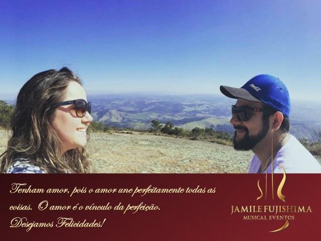 Felicitações ao casal Jessika e Ricardo - Banda para Casamento Vinhedo
