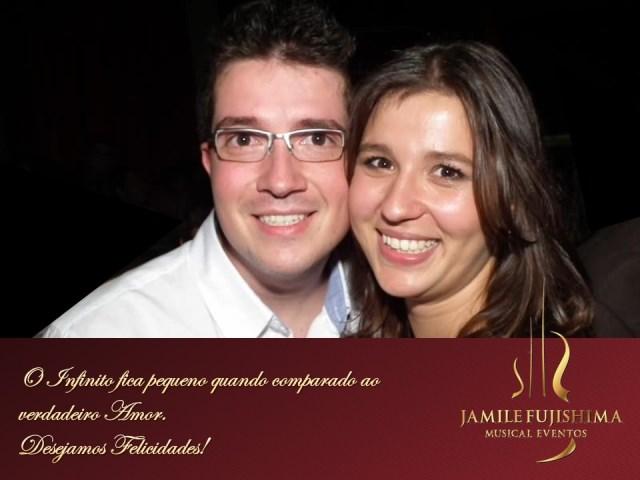 Felicitações ao casal Thaís e Bruno - Grupo Musical Casamento Itatiba