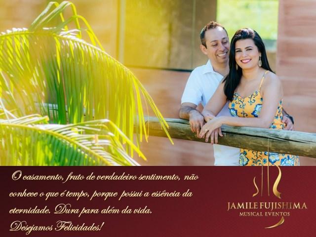 Felicitações ao casal Taylana e André - Musicas para Casamento Campinas