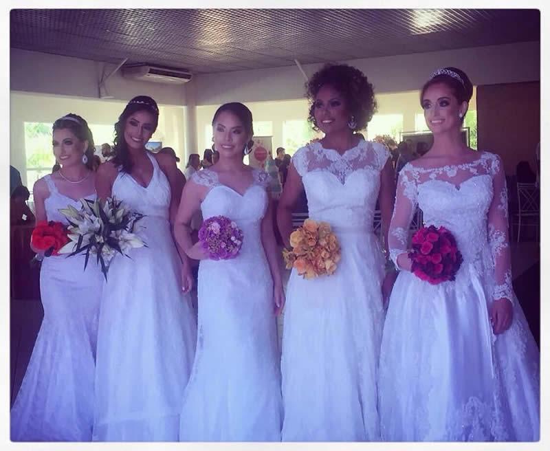 Vestido de Noiva - Desfile - Preparativos - Primeira Mostra de Noivas e Eventos
