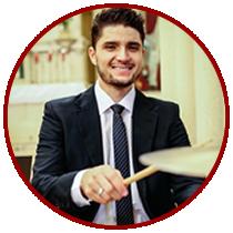 Clayton, Baterista e Percussionista
