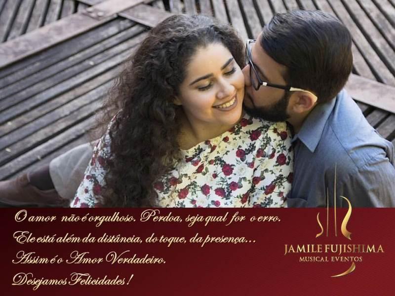 Felicitações ao casal Daiany e Robson - Musical - Casamento e Festa em Nova Odessa