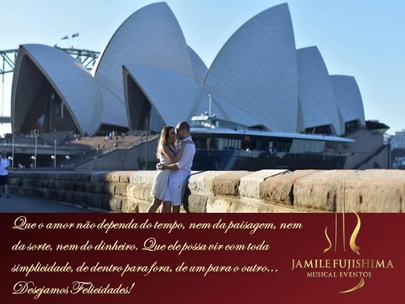 Felicitações ao casal Talita e Alex - Casamento Joaquim Egídio - Campinas