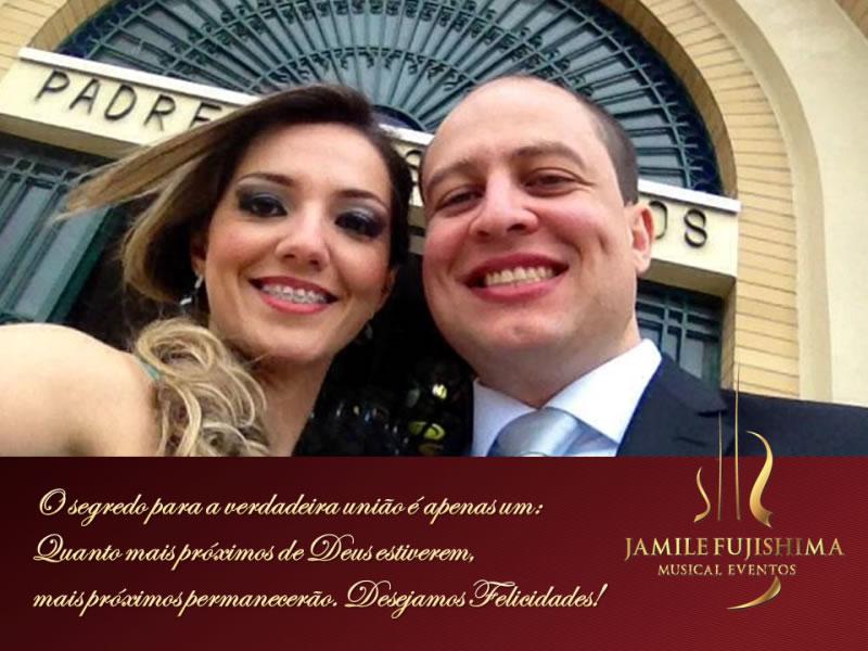 Felicitações ao casal - Fabiane e Rafael - Musica para Casamento em Valinhos