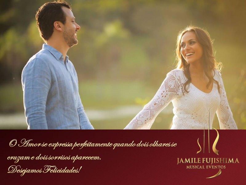Felicitações ao casal Mariana e Marcello - Casamento em Vinhedo