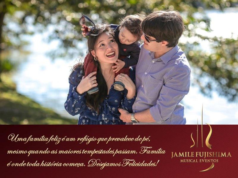 Felicitações ao casal Mariane Tominaga e Gustavo