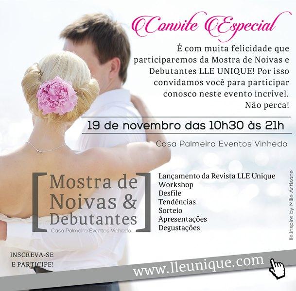 MOSTRA DE NOIVAS & DEBUTANTES LLEUNIQUE