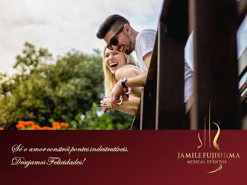 Felicitações ao casal Isabela e Raul