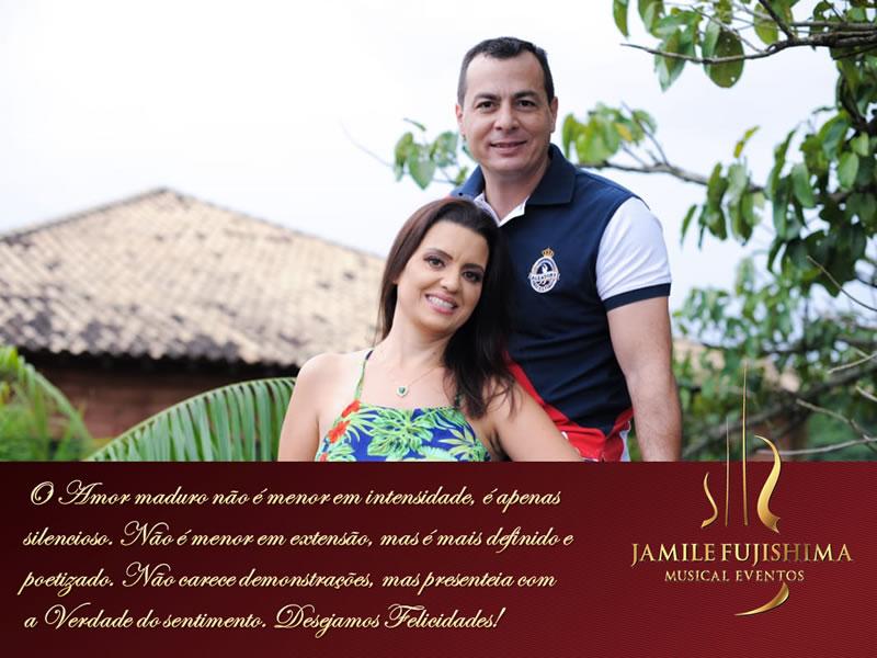 Felicitações ao casal Ataize e Fabio