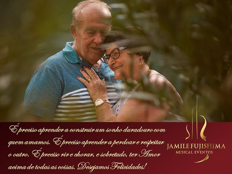 Felicitações ao casal Ines e Francisco