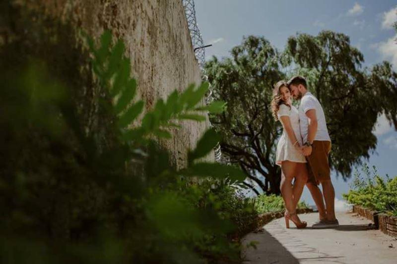 Felicitações ao casal Bruna e Rodolfo