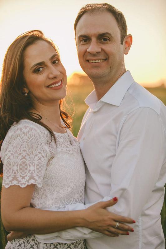 Felicitações ao casal Simone e Rui